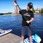 Серфинг без волн — SUP бординг: урок для новичков