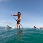 Сап-серфинг на побережье Вайкики