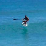SUP фоилинг на южном побережье Оаху